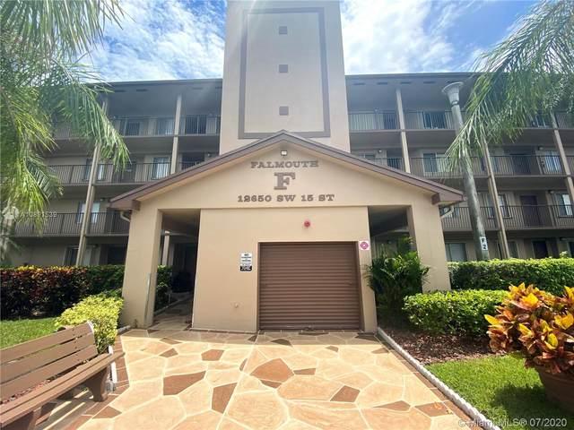12650 SW 15th St 309F, Pembroke Pines, FL 33027 (MLS #A10891539) :: Albert Garcia Team