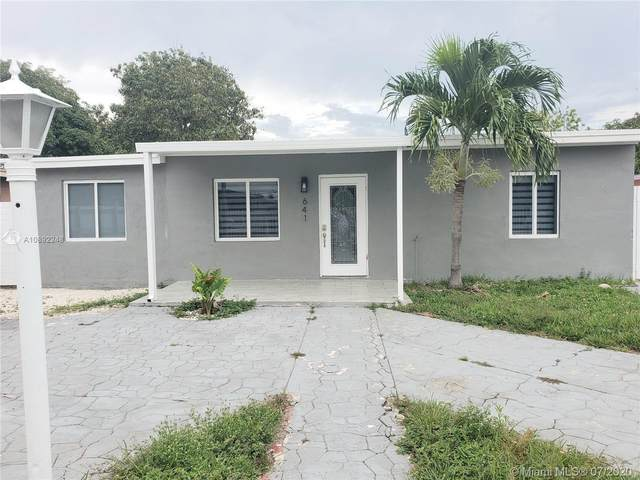 641 E 44th St, Hialeah, FL 33013 (MLS #A10892248) :: Berkshire Hathaway HomeServices EWM Realty