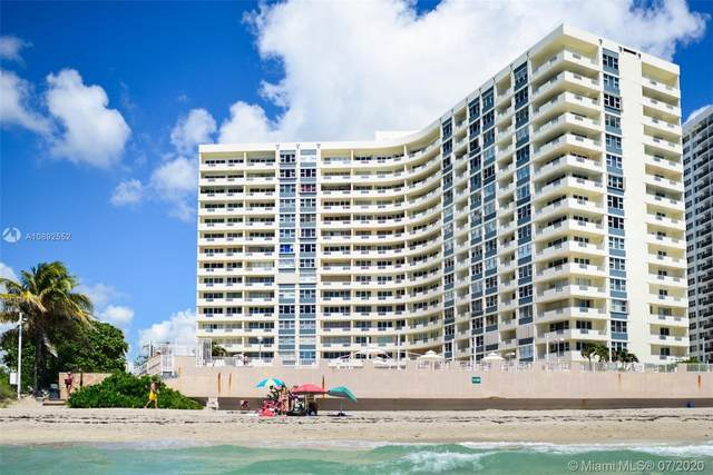 3180 S Ocean Dr #1020, Hallandale Beach, FL 33009 (MLS #A10892552) :: Prestige Realty Group