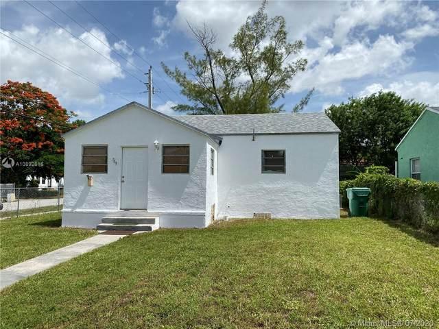 789 NW 64th St, Miami, FL 33150 (MLS #A10892616) :: Berkshire Hathaway HomeServices EWM Realty