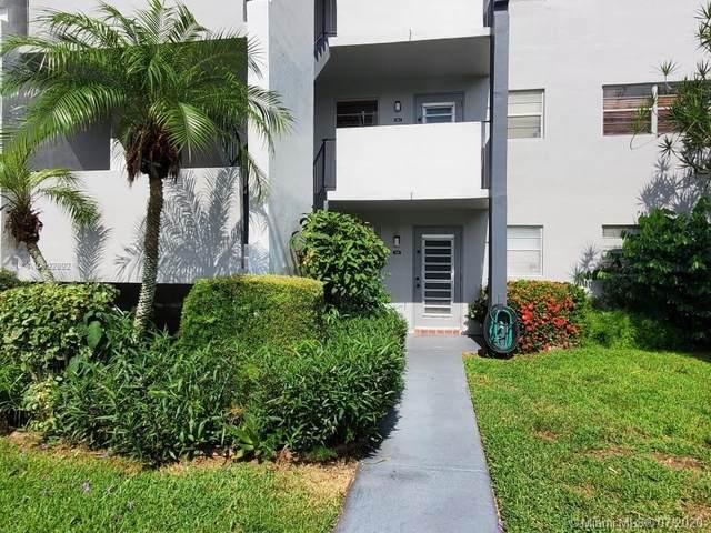 7857 Golf Cir Dr #101, Margate, FL 33063 (MLS #A10892892) :: Berkshire Hathaway HomeServices EWM Realty