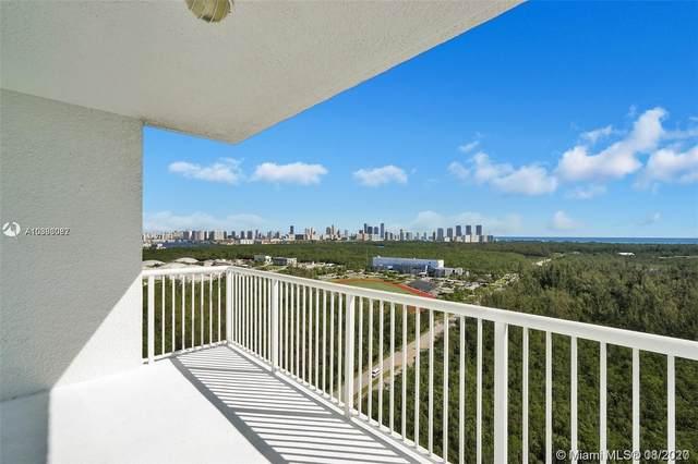 15051 Royal Oaks Ln #1403, North Miami, FL 33181 (MLS #A10893087) :: Prestige Realty Group