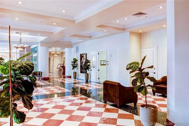 17555 Atlantic Blvd #603, Sunny Isles Beach, FL 33160 (MLS #A10894489) :: ONE Sotheby's International Realty