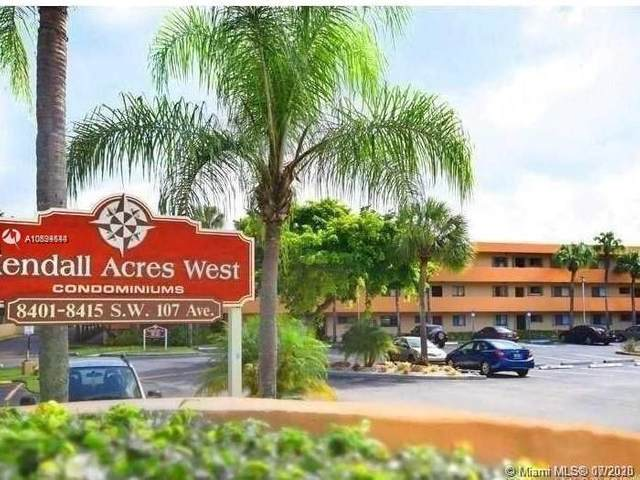 8415 SW 107th Ave 261W, Miami, FL 33173 (MLS #A10894544) :: Ray De Leon with One Sotheby's International Realty