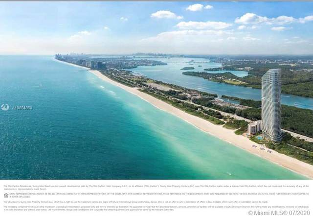 15701 Collins #2302, Sunny Isles Beach, FL 33160 (MLS #A10894968) :: Ray De Leon with One Sotheby's International Realty