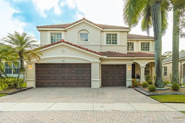 748 E Nandina Dr, Weston, FL 33327 (MLS #A10894985) :: Green Realty Properties