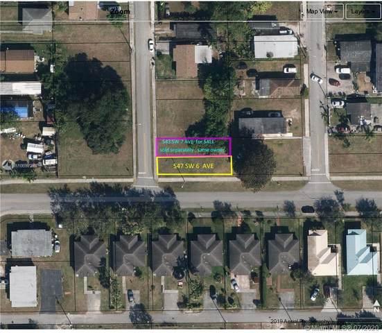 547 SW 6th Ave, Homestead, FL 33030 (MLS #A10897241) :: Berkshire Hathaway HomeServices EWM Realty