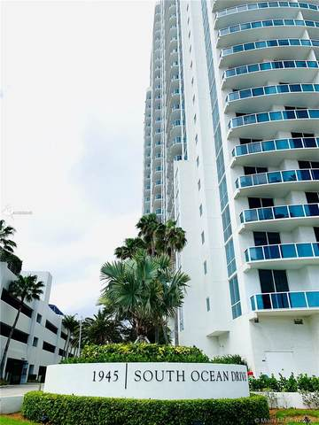 1945 S Ocean Dr #814, Hallandale Beach, FL 33009 (MLS #A10899045) :: The Pearl Realty Group