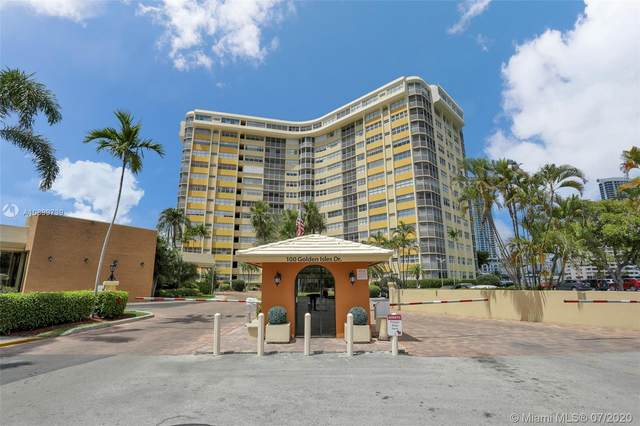 100 Golden Isles Dr #714, Hallandale Beach, FL 33009 (MLS #A10899739) :: Patty Accorto Team