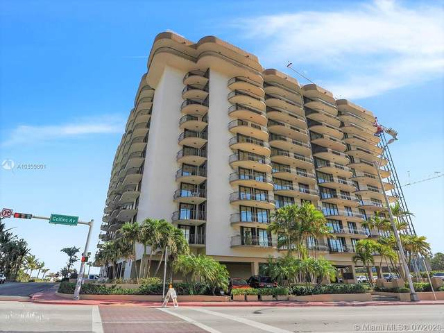 8777 Collins Ave #307, Surfside, FL 33154 (MLS #A10899801) :: Ray De Leon with One Sotheby's International Realty