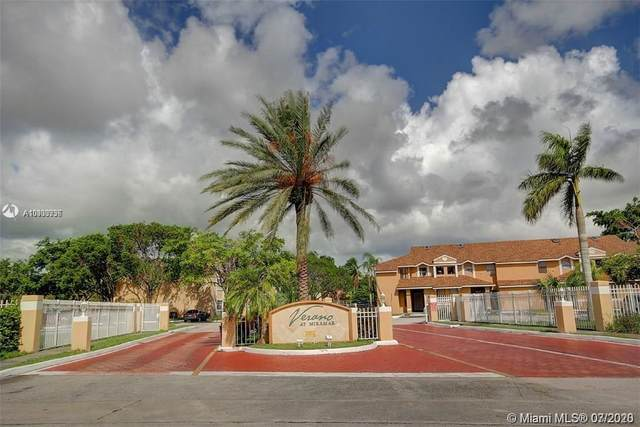 2169 SW 80th Ter #2169, Miramar, FL 33025 (MLS #A10900936) :: The Pearl Realty Group