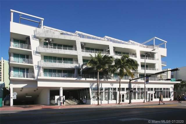 1437 Collins Ave #216, Miami Beach, FL 33139 (MLS #A10901119) :: Patty Accorto Team