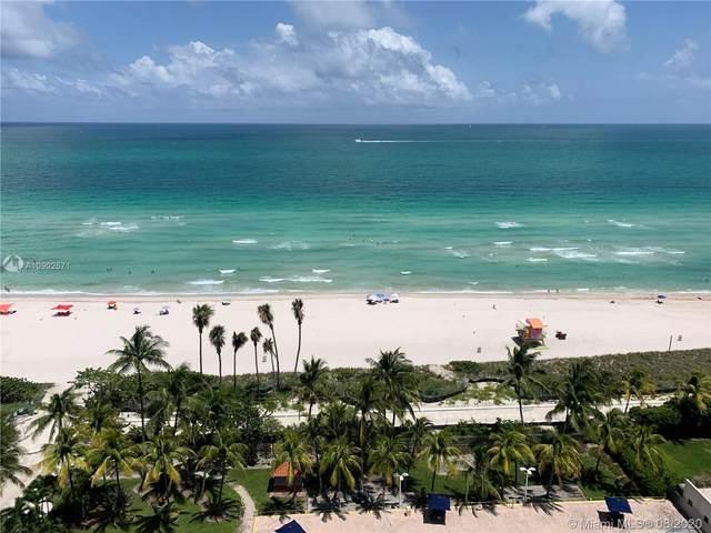 2655 Collins Ave #1811, Miami Beach, FL 33140 (MLS #A10902571) :: Berkshire Hathaway HomeServices EWM Realty