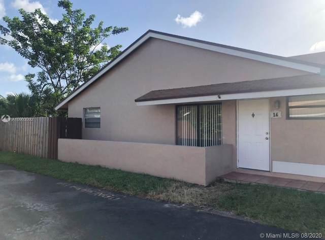 15670 SW 77th Ter A16-1, Miami, FL 33193 (MLS #A10903092) :: Castelli Real Estate Services