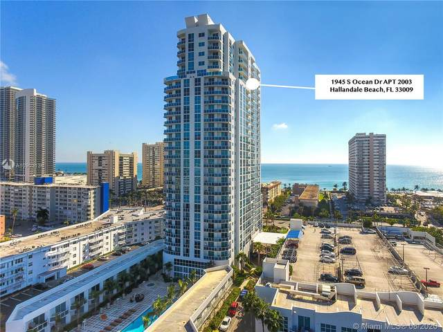 1945 S Ocean Dr #2003, Hallandale Beach, FL 33009 (MLS #A10903136) :: The Pearl Realty Group