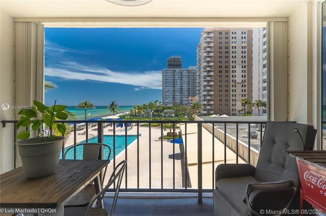 1890 S Ocean Dr #404, Hallandale Beach, FL 33009 (MLS #A10903840) :: Ray De Leon with One Sotheby's International Realty