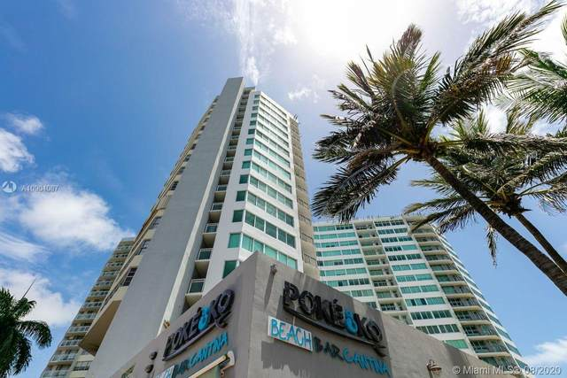 7135 Collins Ave #826, Miami Beach, FL 33141 (MLS #A10904087) :: Ray De Leon with One Sotheby's International Realty