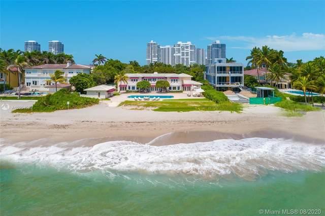 577 Ocean Blvd, Golden Beach, FL 33160 (MLS #A10904580) :: ONE Sotheby's International Realty