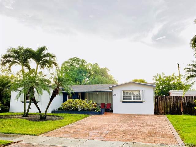 430 SW 70th Ave, Pembroke Pines, FL 33023 (MLS #A10904587) :: The Teri Arbogast Team at Keller Williams Partners SW
