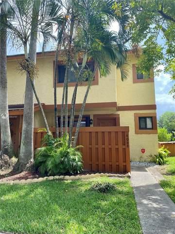 4066 Sierra Terrace # 4066, Sunrise, FL 33351 (MLS #A10904797) :: Julian Johnston Team