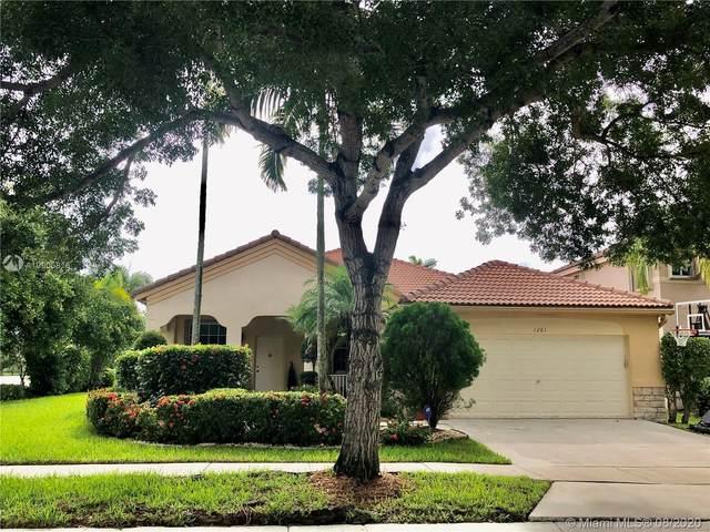 1261 Allamanda Way, Weston, FL 33327 (MLS #A10905816) :: Green Realty Properties
