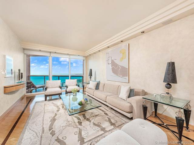 300 S Pointe Dr #3504, Miami Beach, FL 33139 (MLS #A10906141) :: Podium Realty Group Inc