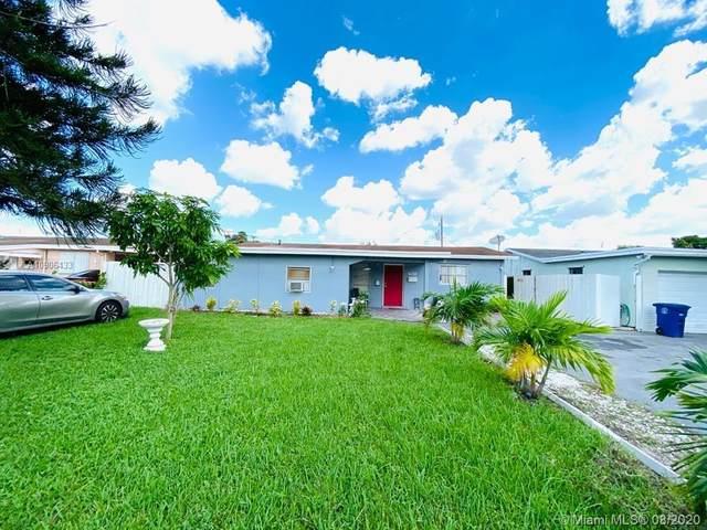 7821 Normandy St, Miramar, FL 33023 (MLS #A10906433) :: Lifestyle International Realty