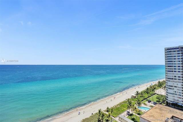 1912 S Ocean Dr 19A, Hallandale Beach, FL 33009 (MLS #A10907236) :: Ray De Leon with One Sotheby's International Realty