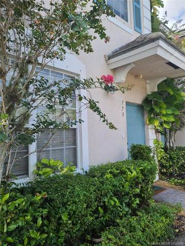773 NW 42nd Ave #773, Plantation, FL 33317 (MLS #A10907299) :: Berkshire Hathaway HomeServices EWM Realty