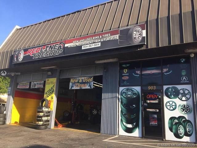 903 W Hallandale Beach Blvd, Hallandale Beach, FL 33009 (MLS #A10907409) :: Lifestyle International Realty