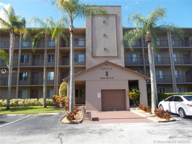 12750 SW 15th St 206D, Pembroke Pines, FL 33027 (MLS #A10907415) :: Lifestyle International Realty