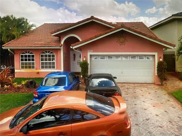 4229 SW 154th Ave, Miami, FL 33185 (MLS #A10907511) :: The Azar Team