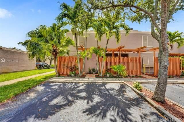 1491 NW 112th Ter #1491, Pembroke Pines, FL 33026 (MLS #A10907685) :: Green Realty Properties