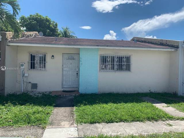4615 NW 185th St, Miami Gardens, FL 33055 (MLS #A10907876) :: The Teri Arbogast Team at Keller Williams Partners SW