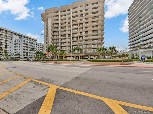 8777 Collins Ave #610, Miami, FL 33154 (MLS #A10907955) :: Ray De Leon with One Sotheby's International Realty