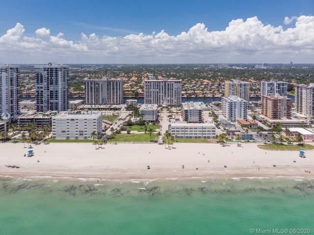 1500 S Ocean Dr 7J, Hollywood, FL 33019 (MLS #A10908206) :: The Rose Harris Group