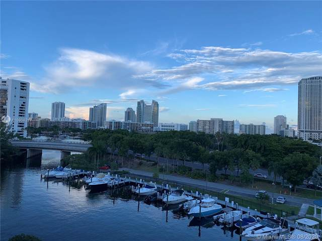 200 Diplomat Pkwy #730, Hallandale Beach, FL 33009 (MLS #A10908217) :: Ray De Leon with One Sotheby's International Realty