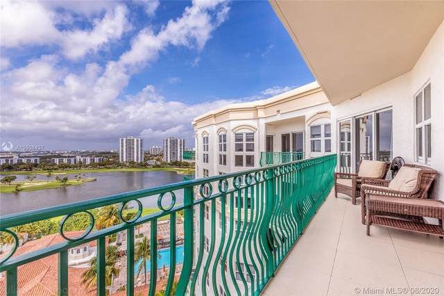 19900 E Country Club Dr Ts06, Aventura, FL 33180 (MLS #A10908437) :: United Realty Group