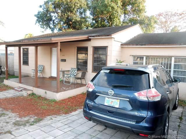1418 NW 103rd St, Miami, FL 33147 (MLS #A10908502) :: Carole Smith Real Estate Team