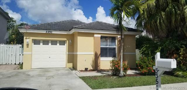 3351 Bonito Ln, Margate, FL 33063 (MLS #A10908624) :: The Jack Coden Group