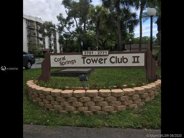 2771 Riverside Dr 407-A, Coral Springs, FL 33065 (MLS #A10908784) :: The Teri Arbogast Team at Keller Williams Partners SW