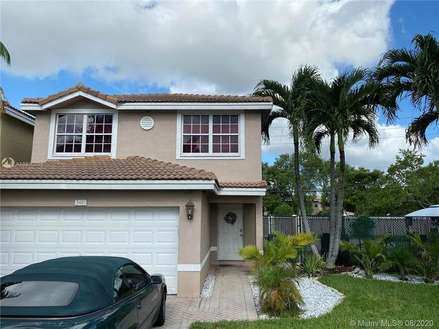 5481 NW 93rd Ter, Sunrise, FL 33351 (MLS #A10910204) :: The Teri Arbogast Team at Keller Williams Partners SW