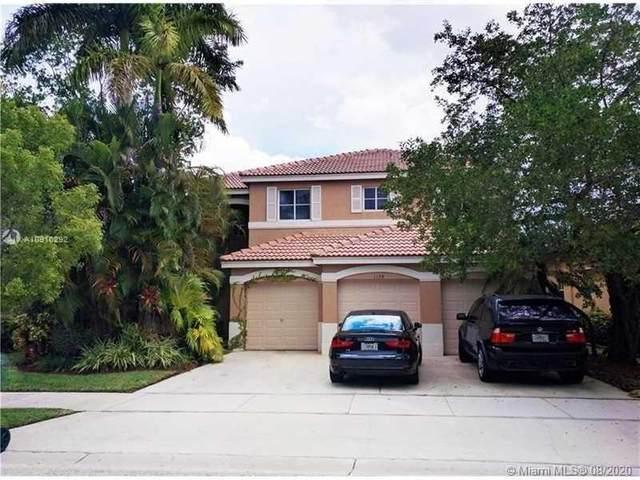 1159 Chenille Cir, Weston, FL 33327 (MLS #A10910292) :: Green Realty Properties