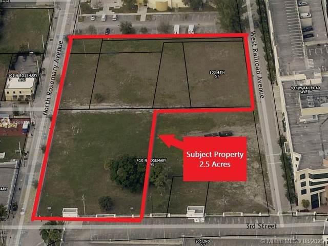 540 N Rosemary Ave, West Palm Beach, FL 33401 (MLS #A10910910) :: Berkshire Hathaway HomeServices EWM Realty