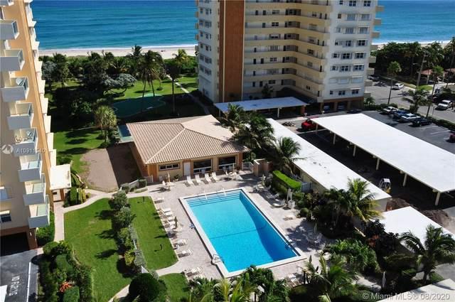 1630 N Ocean Blvd #615, Pompano Beach, FL 33062 (MLS #A10911540) :: Berkshire Hathaway HomeServices EWM Realty