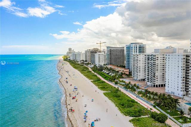 6039 Collins Ave #901, Miami Beach, FL 33140 (MLS #A10912006) :: Berkshire Hathaway HomeServices EWM Realty
