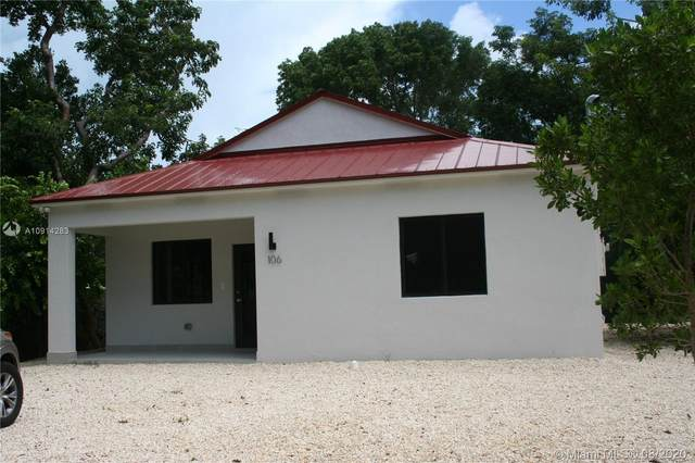 106 S Bay Harbor Dr., Key Largo, FL 33037 (MLS #A10914283) :: ONE | Sotheby's International Realty