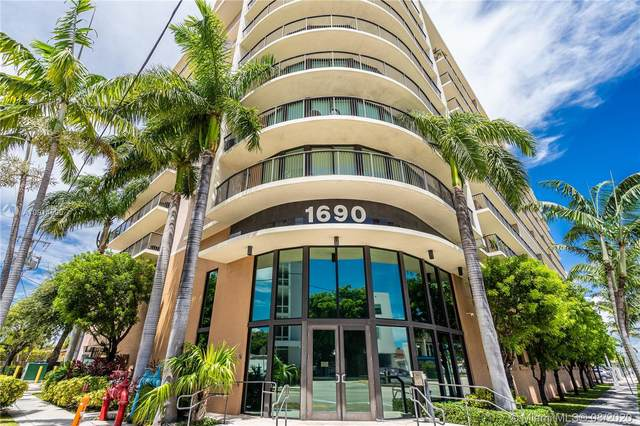 1690 SW 27th Ave #807, Miami, FL 33145 (MLS #A10914590) :: The Pearl Realty Group
