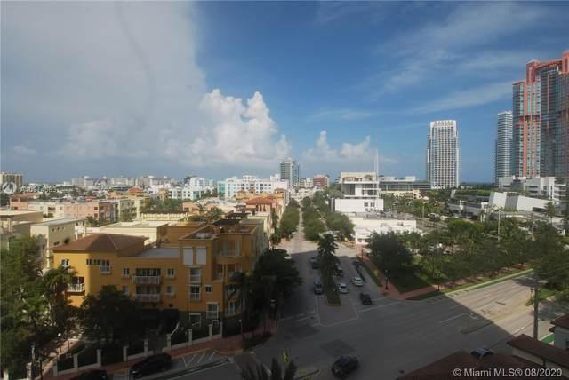 90 Alton Rd #907, Miami Beach, FL 33139 (MLS #A10914683) :: Berkshire Hathaway HomeServices EWM Realty