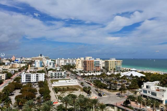 400 S Pointe Dr #1408, Miami Beach, FL 33139 (MLS #A10914731) :: Albert Garcia Team
